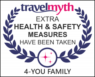 hotel where extra health & safety measures have been taken in Metamorfosis