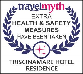 hotel where extra health & safety measures have been taken in Triscina