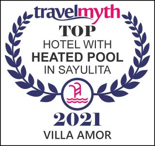 hotel with heated pool in Sayulita