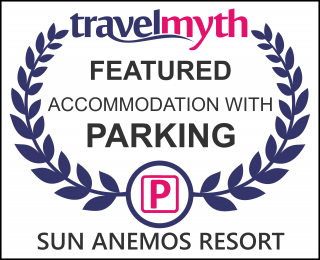 Oia hotels with parking