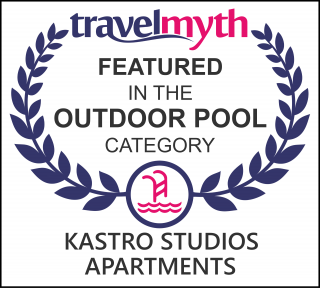 hotels with outdoor swimming pool in Mirtos