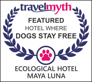 hotels where dogs stay free in Majahual
