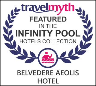 best hotels with infinity pool in Greece