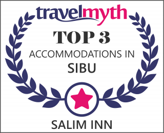 Salim Inn is ranked in the top 3 accommodations in Sibu!