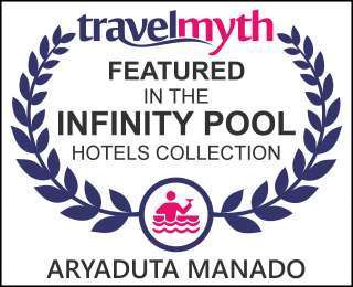 hotels with infinity pool in Manado