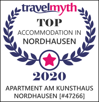 Travelmyth Award Apartment am Kunsthaus Nordhausen