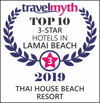 Lamai Beach 3 star hotels