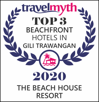 hotels on the beach in Gili Trawangan