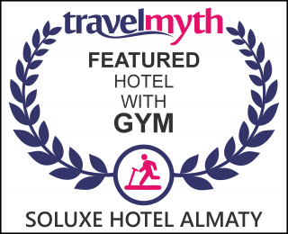 hotels with gym in Almaty