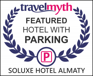 hotels with parking in Almaty