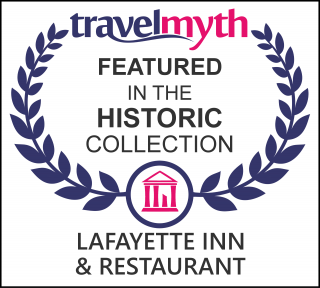 travel Myth Featured in the Historic Collection Lafayette Inn & Restaurant