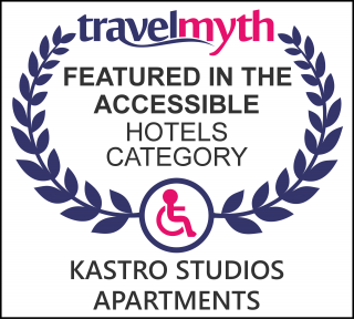 accessible hotels in Mirtos