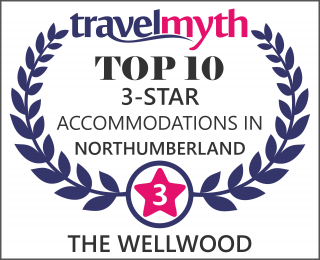 Northumberland 3 star hotels