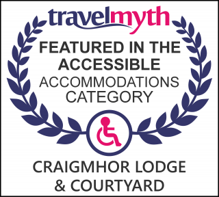Pitlochry accessible hotels