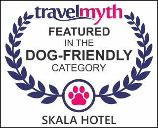 dog friendly hotels in Skala