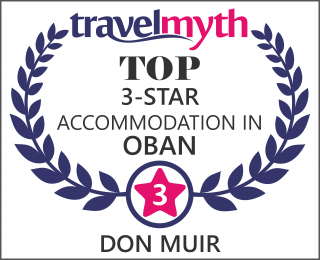 3 star hotels in Oban