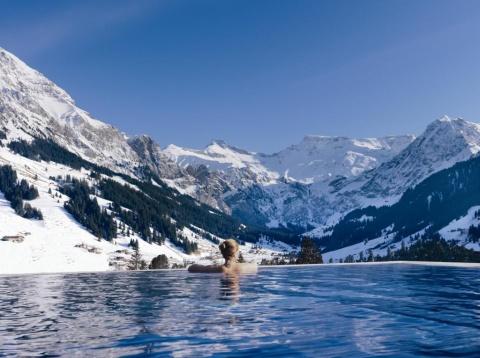 Ξενοδοχεία με πισίνα Infinity στην Ελβετία