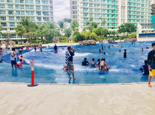 Azure Urban Resort Residences Staycation Resort Man Made White Sand Beach