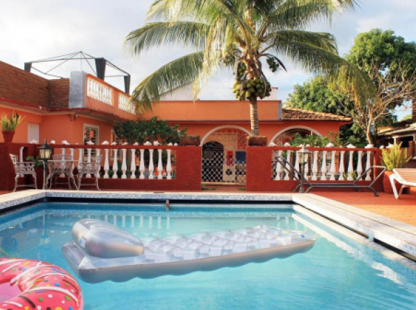 Hostal Mary Mar en Rio Caña TRINIDAD