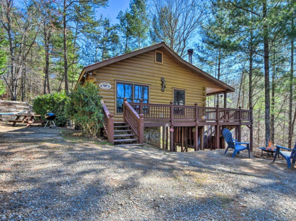 Pet-Friendly Ellijay Cabin with Hot Tub in Ntl Forest