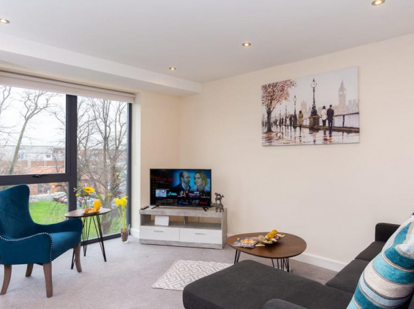 Luxury York City Centre Apartment With Free Gated Parking