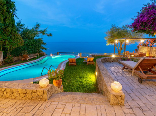 Beachfront Villa Benele , Corfu , Greece